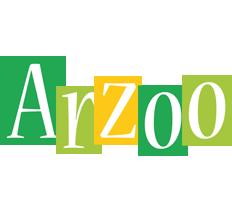 Arzoo lemonade logo