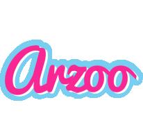 Arzoo popstar logo