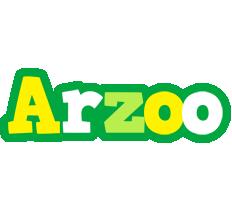 Arzoo soccer logo
