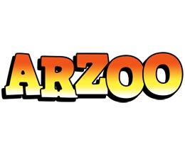 Arzoo sunset logo