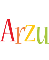 Arzu birthday logo