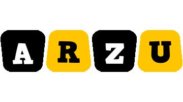 Arzu boots logo
