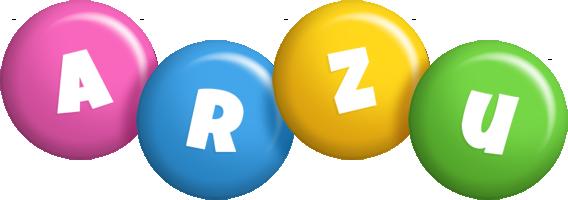 Arzu candy logo