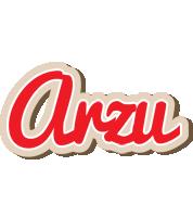 Arzu chocolate logo