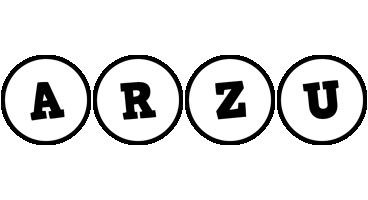 Arzu handy logo