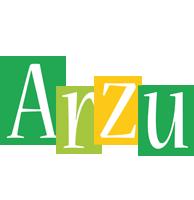 Arzu lemonade logo