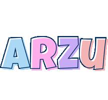 Arzu pastel logo