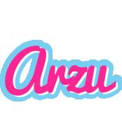 Arzu popstar logo