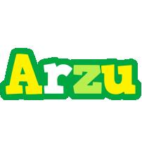 Arzu soccer logo