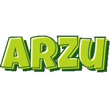 Arzu summer logo