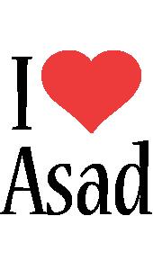 Asad i-love logo