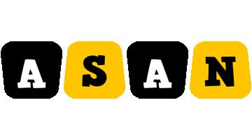 Asan boots logo