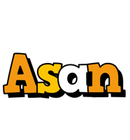 Asan cartoon logo