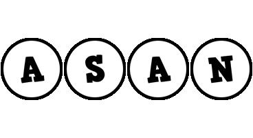 Asan handy logo