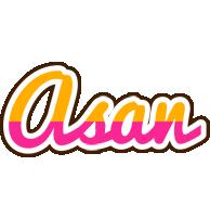 Asan smoothie logo