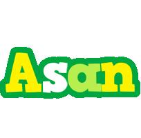 Asan soccer logo