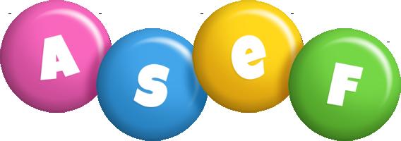 Asef candy logo