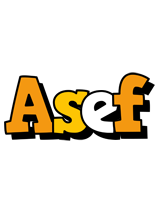 Asef cartoon logo