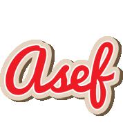 Asef chocolate logo