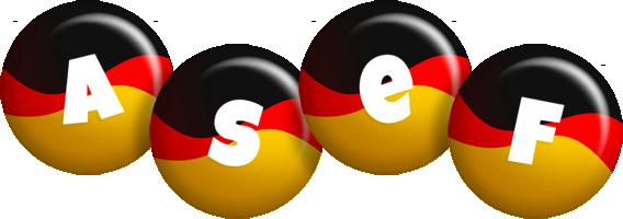 Asef german logo