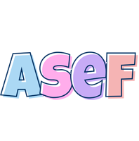 Asef pastel logo
