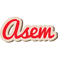 Asem chocolate logo