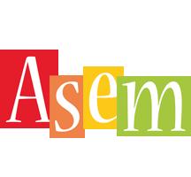 Asem colors logo