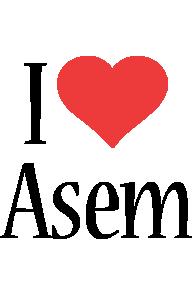 Asem i-love logo