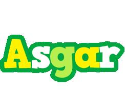 Asgar soccer logo