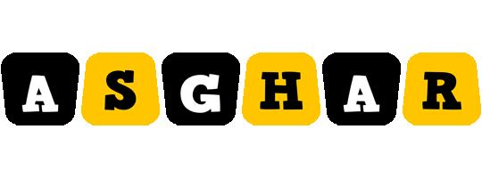 Asghar boots logo