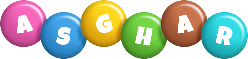 Asghar candy logo