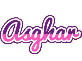 Asghar cheerful logo