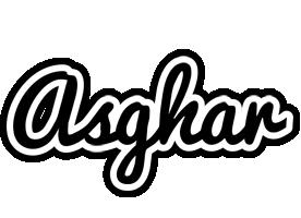 Asghar chess logo