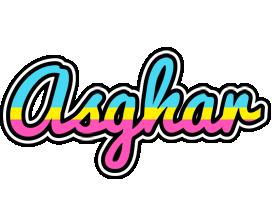 Asghar circus logo