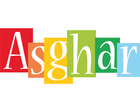 Asghar colors logo