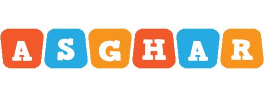Asghar comics logo