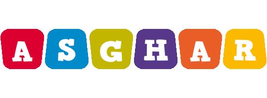 Asghar daycare logo