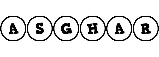 Asghar handy logo