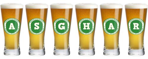 Asghar lager logo