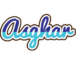 Asghar raining logo