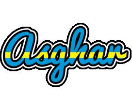 Asghar sweden logo