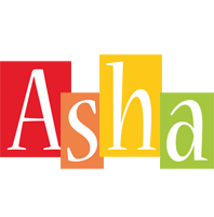 Asha colors logo