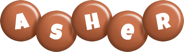 Asher candy-brown logo