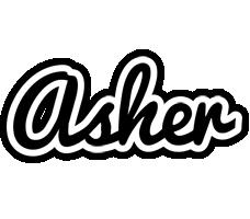 Asher chess logo