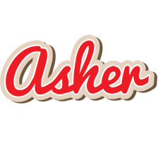 Asher chocolate logo