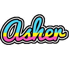 Asher circus logo