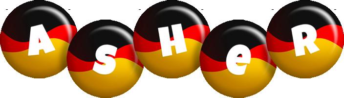 Asher german logo