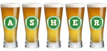 Asher lager logo