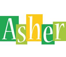 Asher lemonade logo