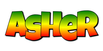 Asher mango logo